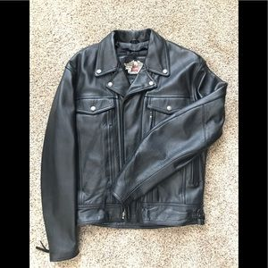⚡️FLASH SALE⚡️Harley Davidson Leather Moto Jacket
